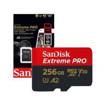 Cartão de Memória 256gb Micro Sd Extreme Pro 170mbs Sandisk -