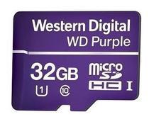 Cartão De Memória 32 Gb Micro Sd Wd Purple Intelbras -