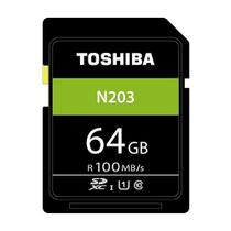 Cartão de Memória 64GB 100MB/s SDXC UHS-I Toshiba -