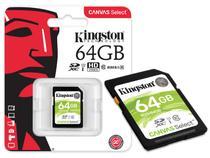 Cartao de memoria classe 10 kingston sds/64gb sdxc -