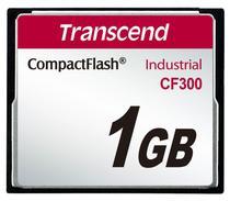 Cartão de memória CompactFlash Transcend 1GB TS1GCF300 300x Industrial -