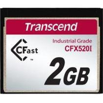 Cartão de memória INDUST TEMP CFAST CARD 2GB TS2GCFX520I Industrial Grade - Transcend