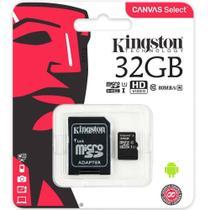 Cartão de Memória Kingston Classe 10 - 32GB -