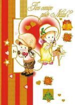 Cartão de Natal Nmi-029 Litoarte -