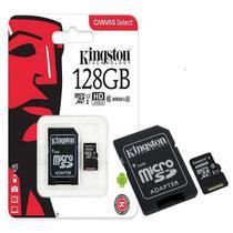 Cartao Mem. Kingston Sd Classe 10 Com Adaptador Sdcs/128Gb -
