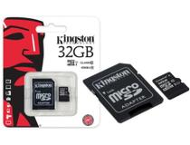 Cartao Memoria 32GB CL10 Micro SD 2X1 Kingston
