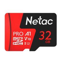 Cartão Memória MicroSD/Micro SDHC 32GB Extreme Pro Netac -