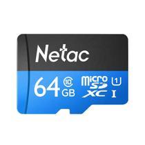 Cartão Memória MicroSD/Micro SDHC 64GB 80MBs Netac - Sandisk