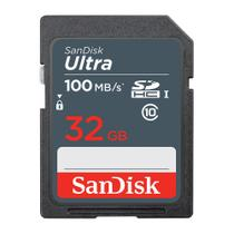 Cartão Memória SDHC 32GB Ultra 100MBs Sandisk -
