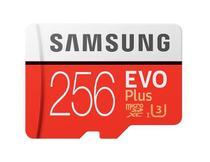 Cartão Micro SD SDXC Samsung Evo Plus 100mb/s U3 4k -