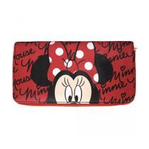 Carteira Da Minnie Rosto Vermelha Disney - Drina