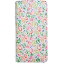 Carteira Estampada de Limão e Morango - Branco - Glamour Pink