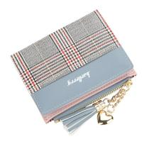 Carteira Feminina Couro Pequena Bolsa Cartões Fashion Luxo - Baellerry