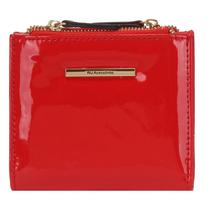 Carteira Feminina Pequena Vermelha com Verniz - Wj Acessórios