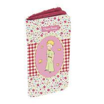 Carteira Pequeno Príncipe Patchwork Original 9cm x 19cm x 2cm Rosa - Trevisan Concept -