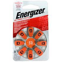Cartela com 8 Baterias Auditivas 13 Energizer -