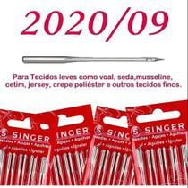 Cartela de agulha singer algodao n202009 c/ 100 -