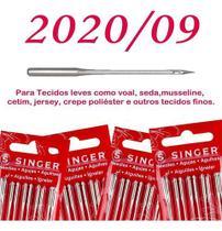 Cartela de agulha singer algodao n202009 c/ 5 - 2und -