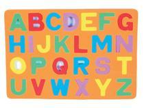 Cartela De Letras Maiscula - Mingone brinquedos
