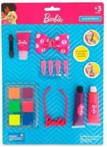 Cartela maquiagem para boneca kit  pupee -