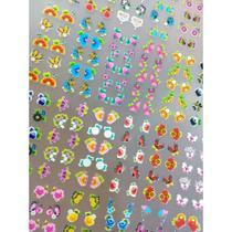 Cartelas De Películas 3D com 810 adesivos - Bh Peliculas