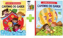Cartilhas De Alfabetização E Números Caminho Do Saber 2 Livros - Editora rideel
