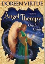 Cartões Oracle de terapia de anjo: virtude de 44 cartas - Blue -