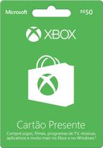 Cartões Presentes Xbox Live Xbox One/ Xbox 360 / Windows 10 - Microsoft