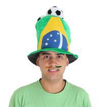 Cartola Brasil 3 Bolas - Copa do Mundo -