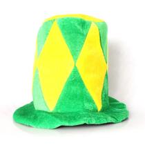 Cartola Verde e Amarela Losango Brasil - Aluá festas