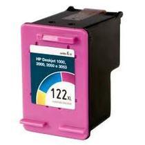 Cartucho 122xl 122 xl ch564hb recarregado deskjet 1000 2000 2050 3050 colorido 13ml - inkFast
