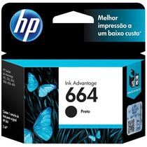 Cartucho 664 F6V29AB INK Advantage Preto-HP -