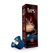 Cartucho com 10 Cap Café Espresso Decaf - Tres