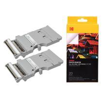 Cartucho de 20 Fotos para Mini Impressora Kodak  KODPMC20 -