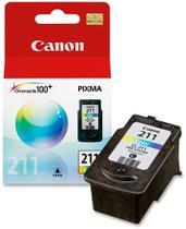 Cartucho de tinta canon cl211 tricolor p/mp230/mp250/mp280/ip2700 -