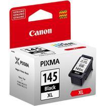 Cartucho de tinta canon pg145bk xl preto p/mg2410/mg2510/mg2910 -
