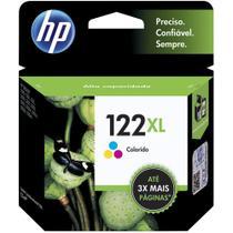 Cartucho de Tinta HP 122 XL Colorido CH564HB -