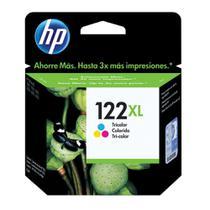 Cartucho de Tinta HP 122XL Colorido CH564HB -