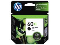 Cartucho de Tinta HP 60 XL Preto - Original