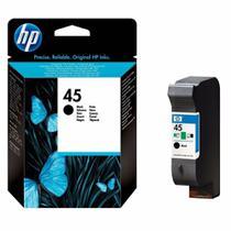Cartucho de Tinta HP 645 45 Preto 42ml  51645AL  Original -