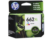 Cartucho de Tinta HP 662XL Colorido - Original