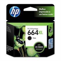 Cartucho de Tinta HP 664XL Preto F6V31AB F6V31A -