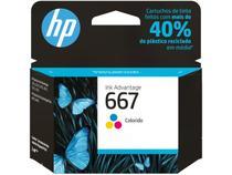 Cartucho de Tinta HP 667 Colorido -