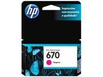 Cartucho de Tinta HP 670 Magenta - Original