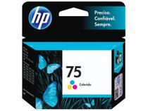 Cartucho de Tinta HP 75 Colorido - Original
