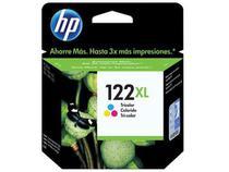 Cartucho de Tinta HP Colorido 122 XL - Original