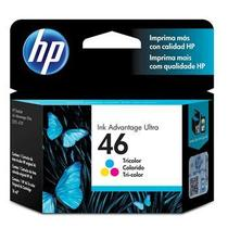 Cartucho de Tinta HP Ink Advantage Ultra 46 Tricolor - CZ638AL