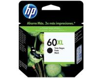 Cartucho de Tinta HP Preto 60 XL - Original