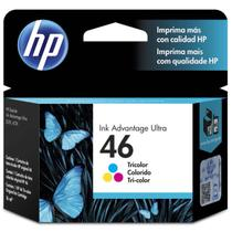 Cartucho De Tinta Ink Advantage 46 Hp Suprimentos Cz638al 16ml Colorido
