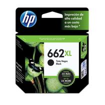 Cartucho de Tinta INK Advantage HP Suprimentos CZ105AB HP 662XL Preto 6.5 ML